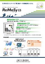 E-BRACEインバータ/IoT電力量データ遠隔監視システム ReMoSy(リモシー) EB