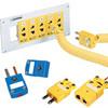 熱電対用コネクタ (ミニチュア、標準型、パネルジャック、超高温用、基盤用)