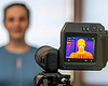 体表温度測定におけるサーモグラフィカメラ