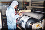 生産設備の高速部分めっき補修 (現場での出張メッキ補修サービス)