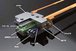 超小型超音波リニアアクチュエータステージ