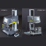 オフラインマーキング装置(打刻式刻印機)  「テクニフォー 空圧式 IMPACT p/IMPACT eZ p」