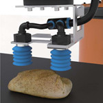 金属検知機対応 食品用吸着カップ