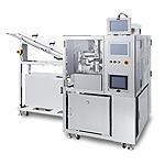 成形前カートン捺印検査装置(GS1データバー印字対応)