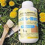 撥水型木材保護塗料  「ハッスル・撥水君」